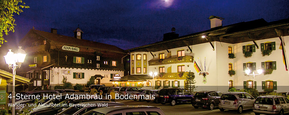 Hotel Adambräu in Bodenmais